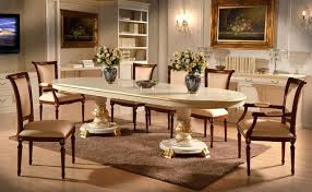 Marvelous Italian Lacquer Dining Room Furniture With Set Amusing