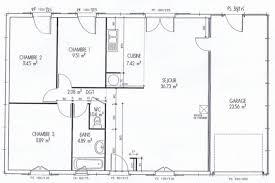 plan maison plain pied gratuit 3 chambres plan maison gratuit 4 chambres bungalow 3 chambres plainpied 3