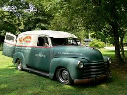 Doc Stevens' 51 Chevy Panel Truck Channeled 6 Inches On Full Height ...