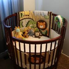 Round Bassinet Bedding by Bedroom Round Cribs And Elephant Crib Bedding Plus Decorative