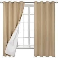 bgment verdunkelungsvorhänge mit beschichtung blickdichte vorhänge gardinen mit ösen lichtundurchlässig verdunklungsgardine für schlafzimmer