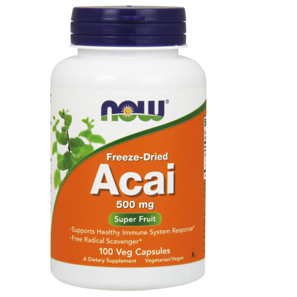Now Foods Acai Supplement - 100 Vcaps