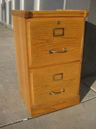 UHURU FURNITURE & COLLECTIBLES SOLD Oak 2 Drawer File Cabinet $40