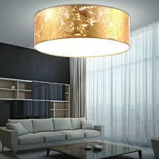 led pendelle hängestrahler esszimmer stoff gold