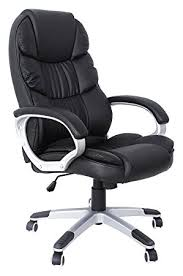 fauteuil pour bureau songmics noir chaise fauteuil de bureau chaise pour ordinateur