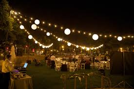 outdoor hanging light bulbs and landscape spectacular with string