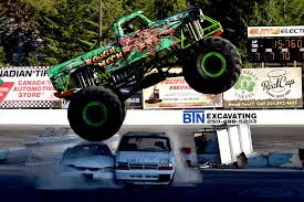 100 Monster Monster Truck Action Returns To The Okanagan For A Second