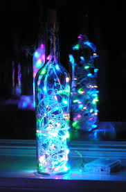 Decorative Wine Bottles With Lights by Best 25 Decorate Bottles Ideas Only On Pinterest Alcohol Bottle