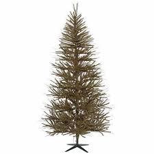 Pre Lit Slim Vienna Twig Artificial Christmas Tree