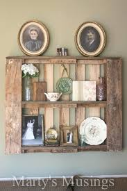 Wood Pallets Decor How To Use Pallet Shelves From Musings Ideas For Christmas