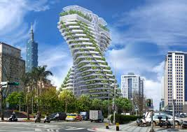 100 Apartments In Taiwan S Smogeating Twisting Tower Will Feature Luxury