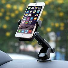 IsYoung DashMount Car Holder For Glass Suction Cup Stretchable