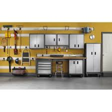 Gladiator Wall Cabinet Height by Garage Storage Cabinet Set 23 Pc By Gladiator Garageworks Garage