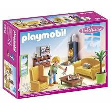 playmobil wohnzimmer mit kaminofen 5308 smyths toys
