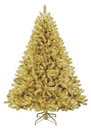 Gold Christmas TreeTreetopias Tree Press Release AttachmentSilver Artificial