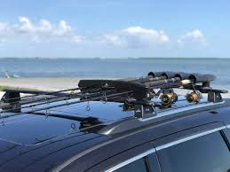 100 Truck Fishing Pole Holder Rod Roof Rack Car And SUV Holds Up To 8 Rods
