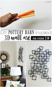 DIY Pottery Barn Inspired 3D Wall Art | This Is Our Bliss 25 Diy Projects Using Embroidery Hoops Pinterest Wall Shelves Design Pottery Barn For Sale Decorative Ideas Scroll Metal Art Articles With Western Tag O Untitled Arts American Flag Vintage Tree Pating Diy Room Decor Teens Kids Mermaid Australia Full Size Of Wire Iron Planked Wood Quilt Square Want To Make Four Of Salvaged