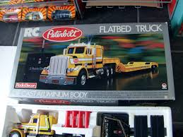 RadioElecon Shinsei Peterbilt RC Radio Controlled Flatbed Truck 1 24 ...