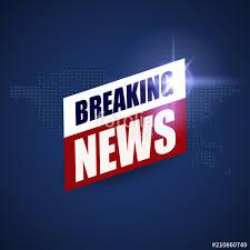 Breaking News Background World TV Banner Design