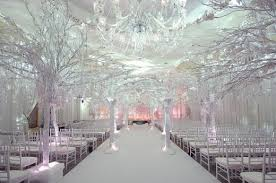 Winter Church Wedding Decorations Theme Wonderland Themed Ideas For