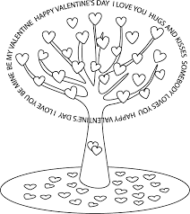 St Valentines Day Hello Fabulous Valentine Coloring Pages