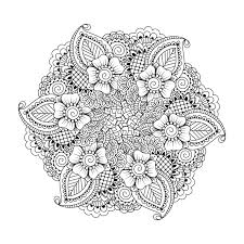 Free Mandala Coloring Pages Photo Gallery In Website Adult