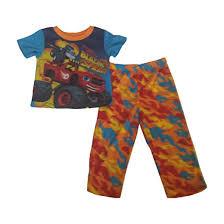 100 Monster Truck Pajamas Amazoncom Blaze And The Machines Toddler Boys Pajama Set