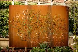 Decorative Garden Fence Panels by Decorative Privacy Fence Panels With Decorative Perforated Metal
