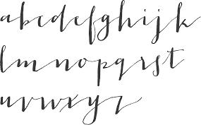 MyFonts Cursive Typefaces