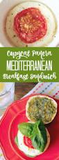 Panera Pumpkin Muffin Nutrition by Copycat Panera Mediterranean Breakfast Sandwich Foodtastic Mom