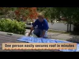 UTARPit Self Adhesive Roofing Tarp for Pros The Home Depot