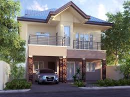 Second Floor House Design by 2 Storey Home With Simple Minimalist Design 4 Home Ideas