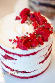 Red Velvet Naked Cake by Aneris s