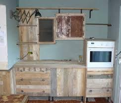 meuble cuisine palette étourdissant faire ses meuble en palette et construire meuble