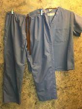 Ceil Blue Scrubs Sets by Medline Solid Scrubs Sets Ebay