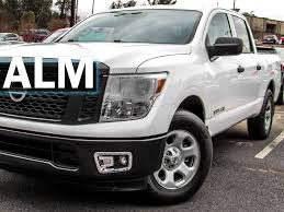 2017 Used Nissan Titan 4x2 Crew Cab S At ALM Gwinnett Serving Duluth ...