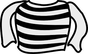 Similiar Striped Shirt Clip Art Keywords
