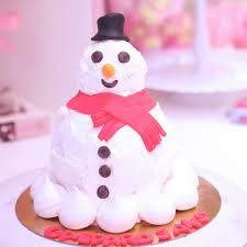 gâteau noel bonhomme de neige debogato