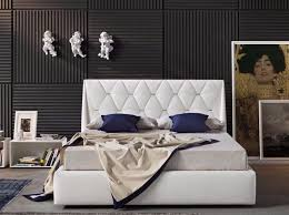 Black Leather Headboard With Diamonds by Imitation Leather Double Bed With Upholstered Headboard Diamond By