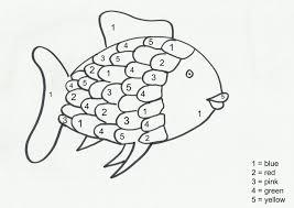 Coloring Sheets Good Rainbow Fish Page