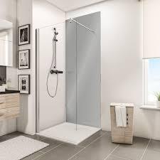 schulte duschrückwand decodesign hochglanz reflex grau 100 x 255 cm
