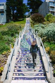 16th Avenue Tiled Steps In San Francisco by 16th Avenue Tiled Steps U2013 Dioniso Punk