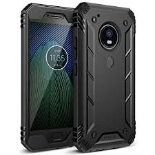 Poetic Revolution Moto G5 Plus Rugged Case With Hybrid Heavy Duty Protection and Built In