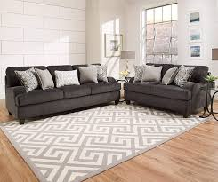 Simmons Flannel Charcoal Sofa Big Lots by I Found A Freeport Slate Memory Foam Sofa At Big Lots For Less