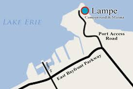 Lampe Campground In Erie Pa by Port Erie