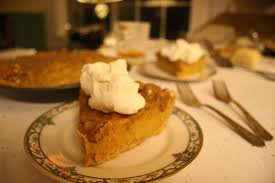 Pumpkin Pie With Pecan Praline Topping by November 2011 Mypiary
