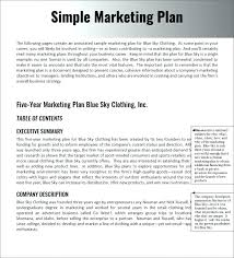 Plan Template Sample Word Samples Photos Design Document Simple Doc Marketing Excel Digital Facebook Proposal Small