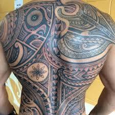 Tribal Back Tattoo On TattooChief