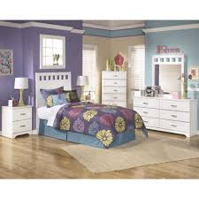 Zayley Dresser And Mirror by Twin Headboard Only