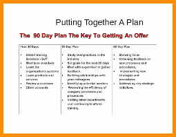 First 90 Days Plan Template Inspirational Day Free Word Plete 30 60 Action
